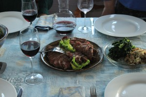 Forest Walks Lodge - Deloraine accommodation creating wonderful meals with Tasmanian organic local produce.