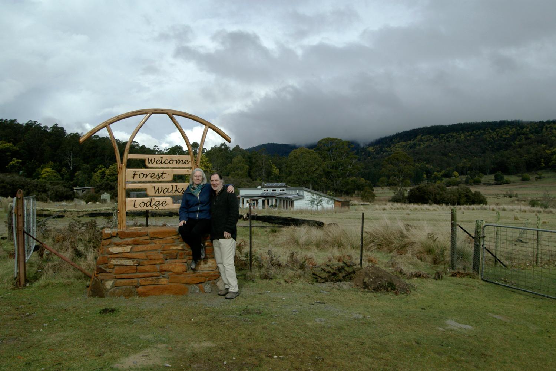 Forest Walks Lodge eco accommodation Deloraine Tasmania