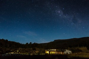 Forest Walks Lodge - situated in the Great Western Tiers Tasmania under the southern night sky