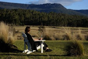 Forest Walks Lodge - mountain views, Great Western tiers Tasmania, Deloraine accommodation, wilderness accommodation